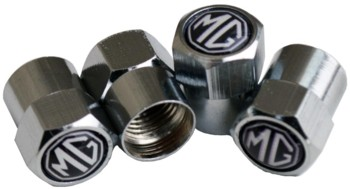 MG TIRE VALVE STEM CAPS (4) (VC-MG2)